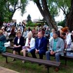 Šventėje dalyvavo ne tik svečiai iš Visos lietuvos, bet rajono meras V.Makūnas, seniūnas S.Imbrasas bei zapyškiečiai.