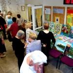PMMA Branduma kūrybinių darbų paroda Zapyškio mokyklos foje