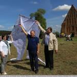 14 Aitvarų festivalyje dalyvauja ne tik Kauno rajono savivaldybės meras Valerijus Makūnas (viduryje) ir administracijos direktorius Antanas Nesteckis (dešinėje), bet ir Se