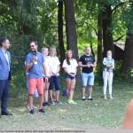 19 Kauno rajono vicemeras Paulius Visockas (kairėje) dažnai dalyvauja Zapyškio bendruomenės renginiuose.