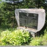 24 Seniūnijoje pastatytas paminklas Zapyškio miškuose žuvusiems partizanams atminti.