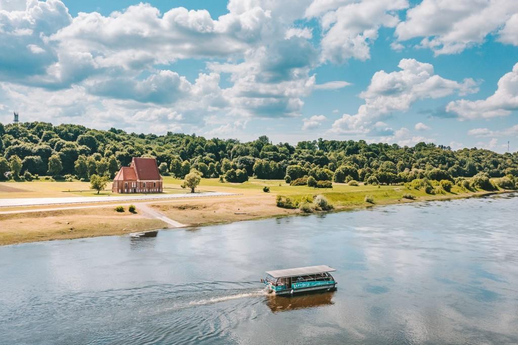 Laivas Zapyškis - A. Aleksandravičiaus nuotrauka
